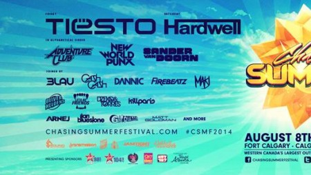 La line up del Chasing Summer (e la data italiana di Hardwell)