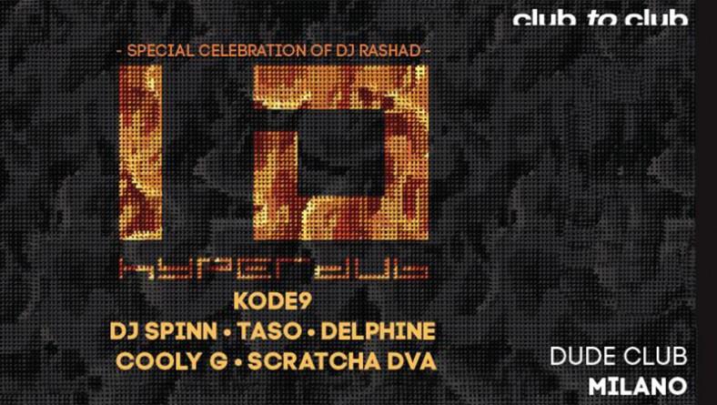 10 anni di Hyperdub: a Milano si festeggia con Kode 9 e soci