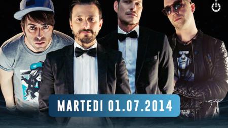L'after party di TOP DJ con i finalisti al Byblos di Milano