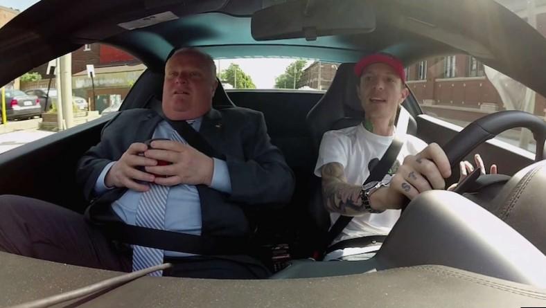 """Deadmau5 si è portato in macchina il """"famoso"""" sindaco di Toronto"""