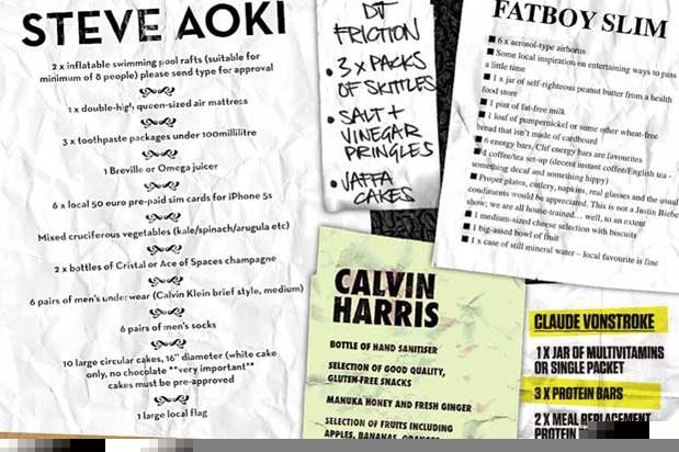 Da Martin Garrix a Tiësto: tutte le richieste dei dj ospiti al Creamfields