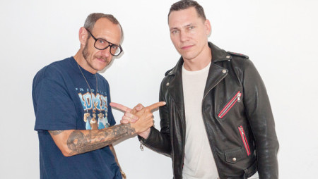 Guarda Tiësto nelle foto di quel matto di Terry Richardson