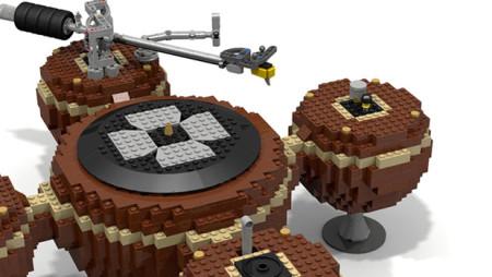 Un giradischi fatto interamente di Lego. E funzionante!