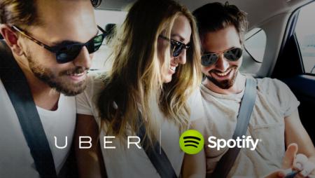 Ascoltare Spotify quando usi Uber. Diplo è impazzito all'idea.
