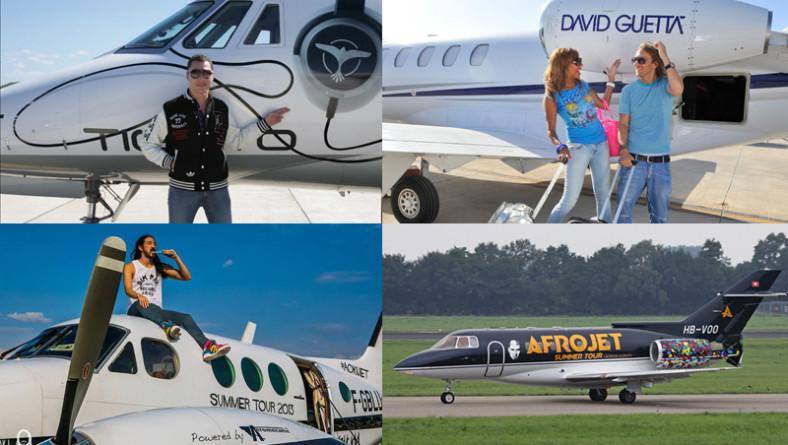 Le star dell'EDM volano così: tutti i jet privati della musica dance