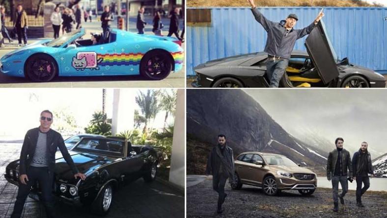 Tutte le auto dei DJ più famosi (roba tranquilla e accessibile!)