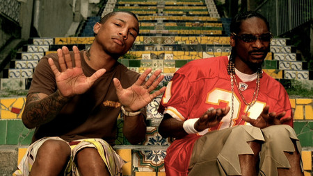 Snoop Dogg e Pharrell Williams: senti che groove
