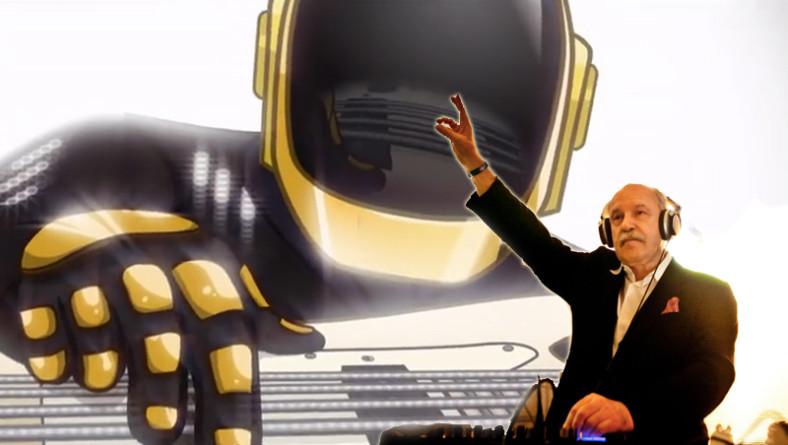I Daft Punk in versione cartoon nel tour con Giorgio Moroder
