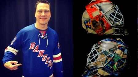 Tiesto designer per un giorno: disegna un casco da hockey per beneficenza