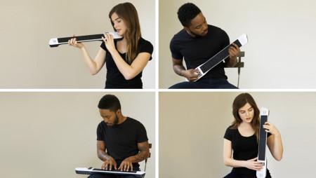 Instrument 1: chitarra, tastiera e controller tutto in uno