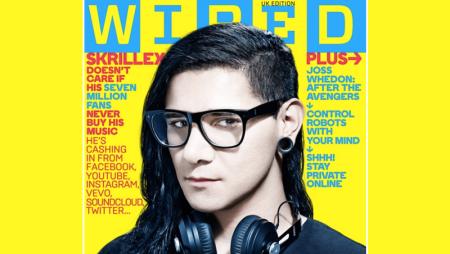 Skrillex su Wired di maggio con una cover interattiva da suonare