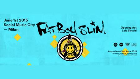 Fatboy Slim + Lele Sacchi: il primo giugno a Milano si balla!
