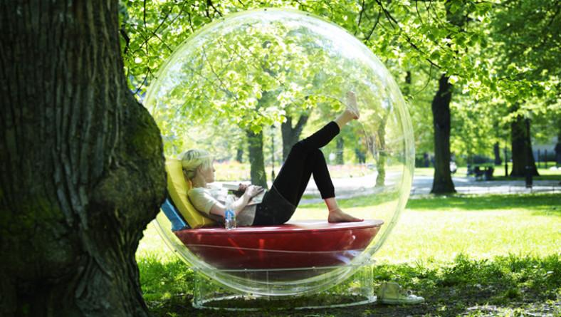 L'impianto audio dei sogni è in una bolla trasparente: favoloso!