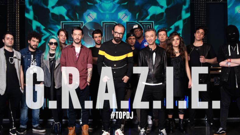 Un G.R.A.Z.I.E. enorme quanto la seconda edizione di TOP DJ