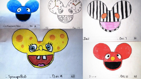 I ritratti più belli di Deadmau5? Li ha fatto Darius, un fan di 8 anni