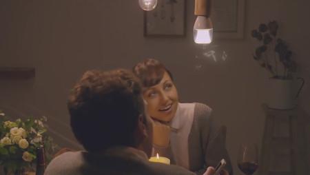 Mai più senza: la lampadina-cassa acustica sbarca sul mercato