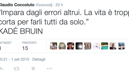 I 5 migliori tweet della settimana: da Coccoluto e Ralf ai VINAI e Marnik