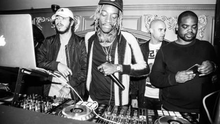 Il rapper Wiz Khalifa da un pò fa il DJ con il nome DJ Daddy Kat