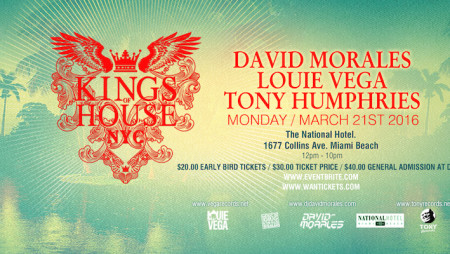 "Winter Music Conference: a Miami anche il nostro ""king"" David Morales"