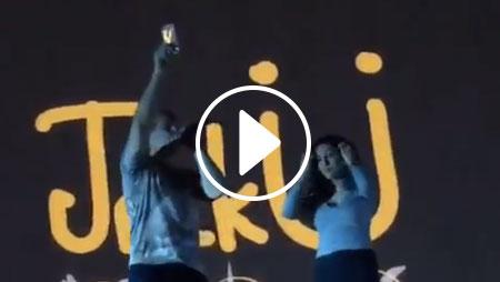 Diplo lancia il cellulare di una fan in mezzo alla folla! [video]