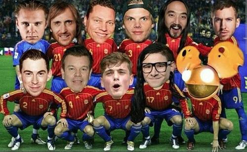 Top DJ World Cup: i mondiali dalla consolle