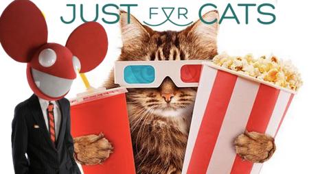 Deadmau5 ospite al Just for Cats Film Festival 2015 [sì, è vero]