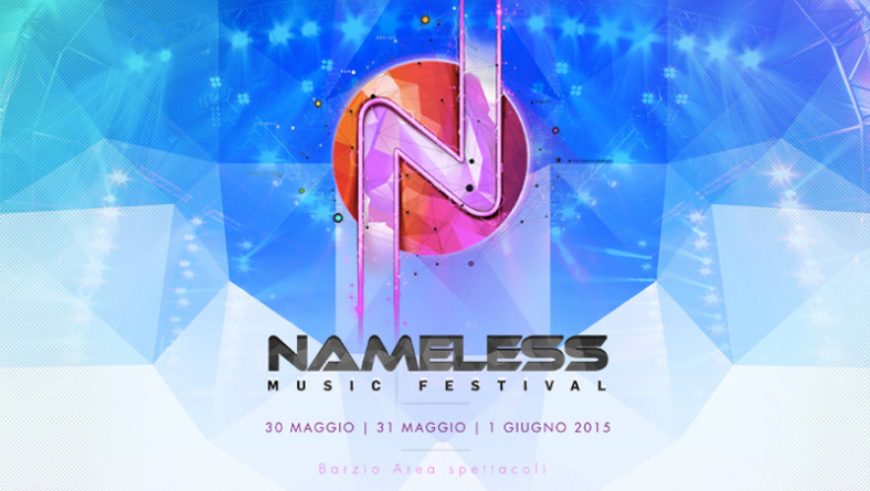 NAMELESS MUSIC FESTIVAL 2015, vinci la compilation con TOP DJ