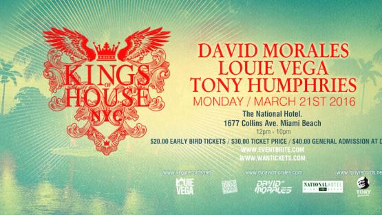 """Winter Music Conference: a Miami anche il nostro """"king"""" David Morales"""