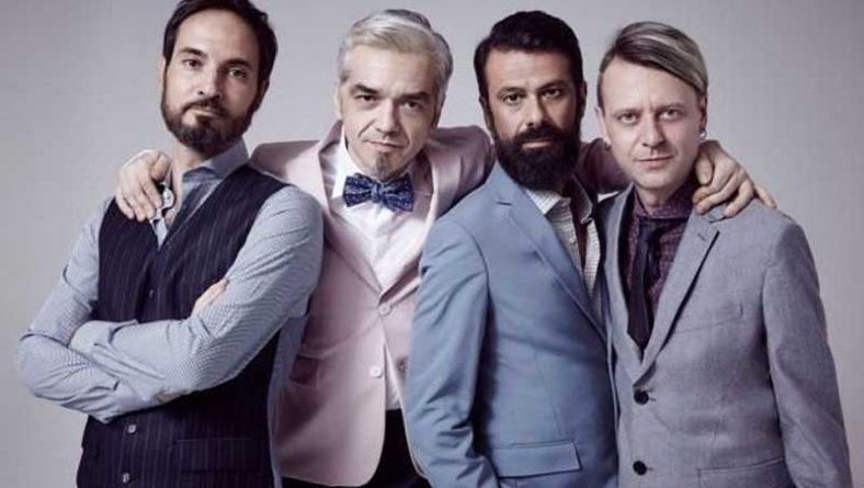 """Bluvertigo, i 5 momenti """"dance"""" di Morgan, Andy, Sergio e Livio"""